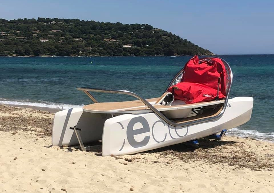 Ceclo original fait son entrée au Pampelonne Nautic Club !